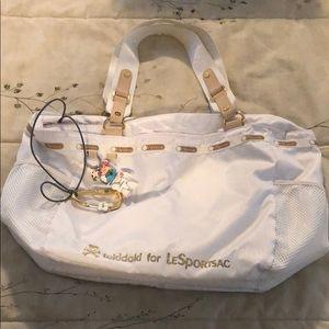 Tokidoki for LeSportSac white tote qee toy2r rare